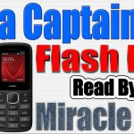 Lava Captain K2 Flash File Read by Miracle Box